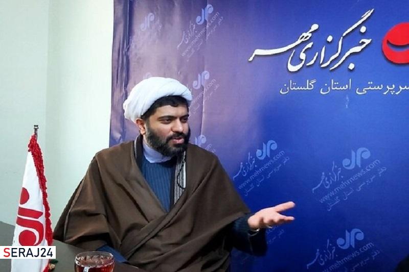 طرح نشاط فرهنگی در بقاع متبرکه گلستان اجرا می شود