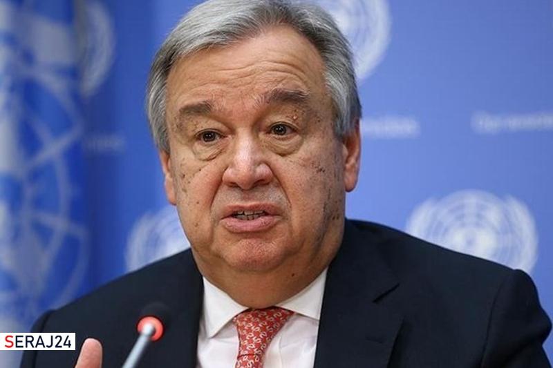 دبیرکل سازمان ملل خواستار لغو تحریمهای ایران شد