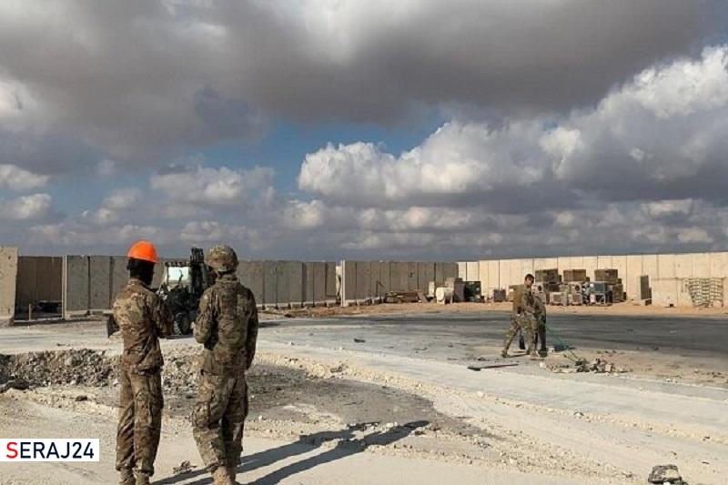 حمله شدید راکتی به عین الاسد