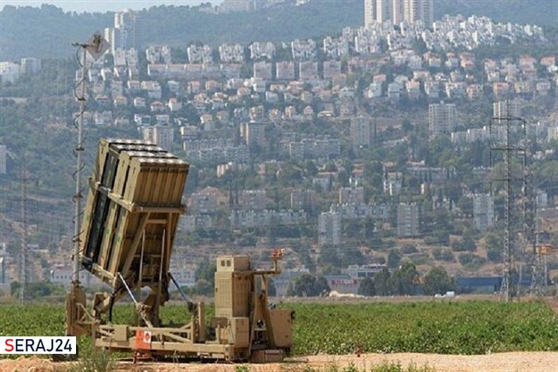 شلیک اشتباه سامانه گنبد آهنین به یک جنگنده خودی در جنگ اخیر غزه