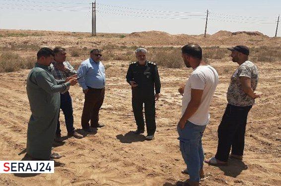 آغاز پروژه آبرسانی سپاه خوزستان به جفیر