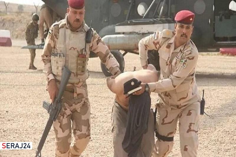بازداشت سرکرده بارز داعشی موسوم به والی بغداد