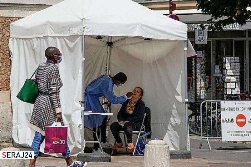 رکورد مبتلایان روزانه به کرونا در فرانسه شکسته شد