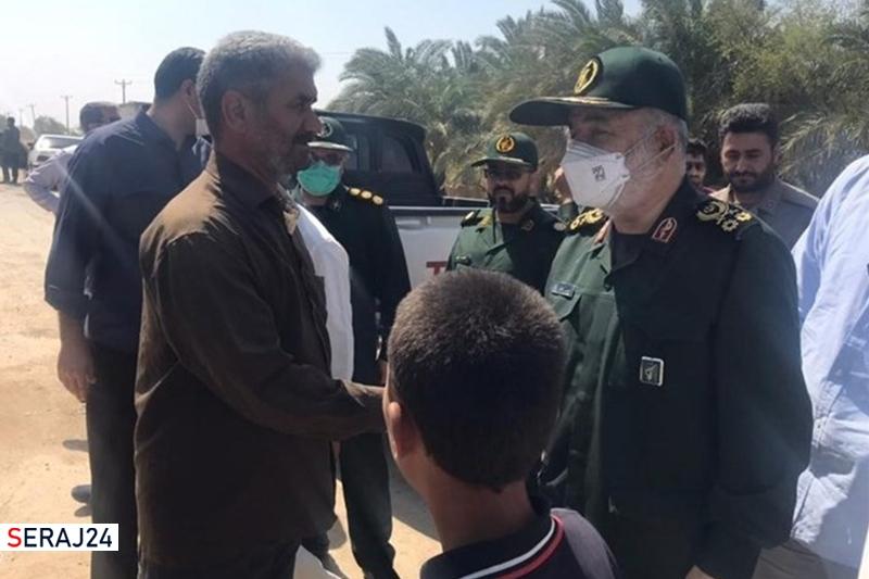 همیشه در کنار مردم خوزستان هستیم / تا پایان تنش آبی در منطقه میمانیم