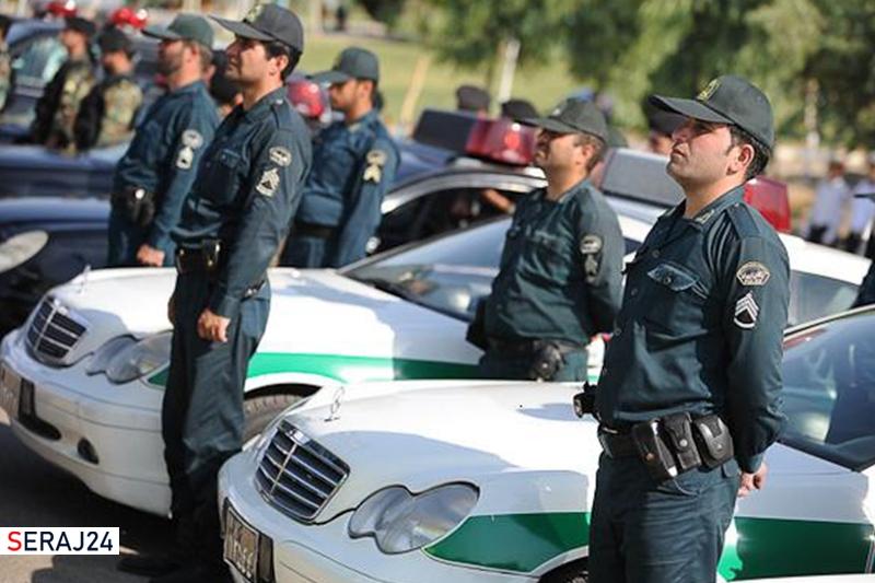 نیروی انتظامی در کنار مردم است