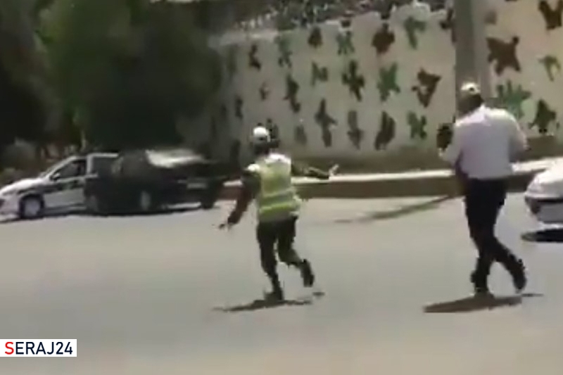 ویدئو/ پلیس راهور ناجی یک کودک زاهدانی  از مرگ شد