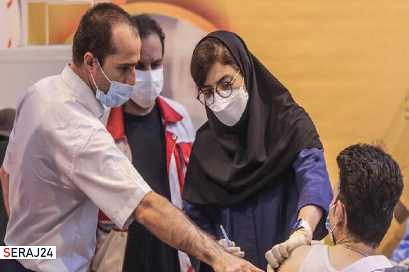 ۹ میلیون و ۵۵۲ هزار ایرانی دوز اول واکسن کرونا را زده اند
