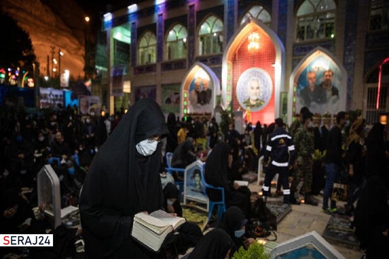 مراسم عزاداری ماه محرم در گلزار شهدای کرمان برگزار میشود