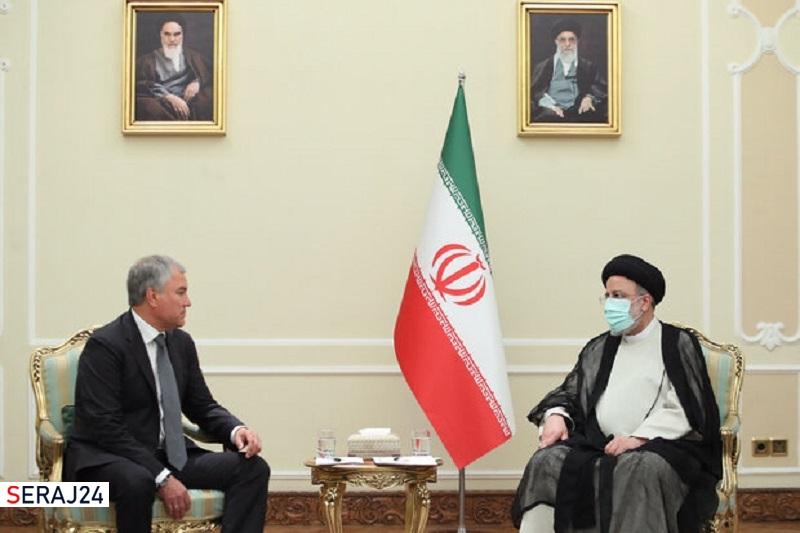 حجم تعاملات ایران و روسیه کافی نیست