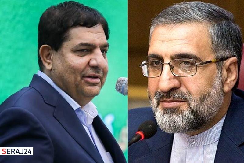 محمد مخبر به عنوان معاون اول  و غلامحسین اسماعیلی به سمت رئیس دفتر رئیس جمهور منصوب شدند