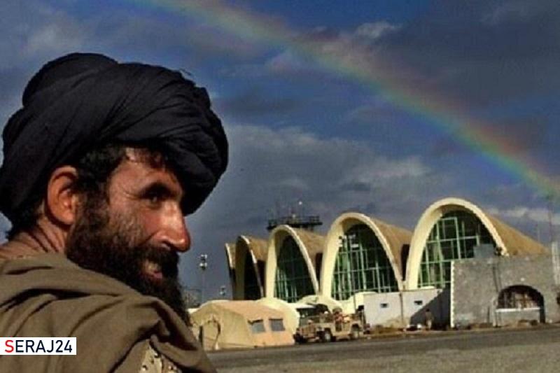 طالبان فرودگاه قندهار افغانستان را با راکت هدف قرار داد