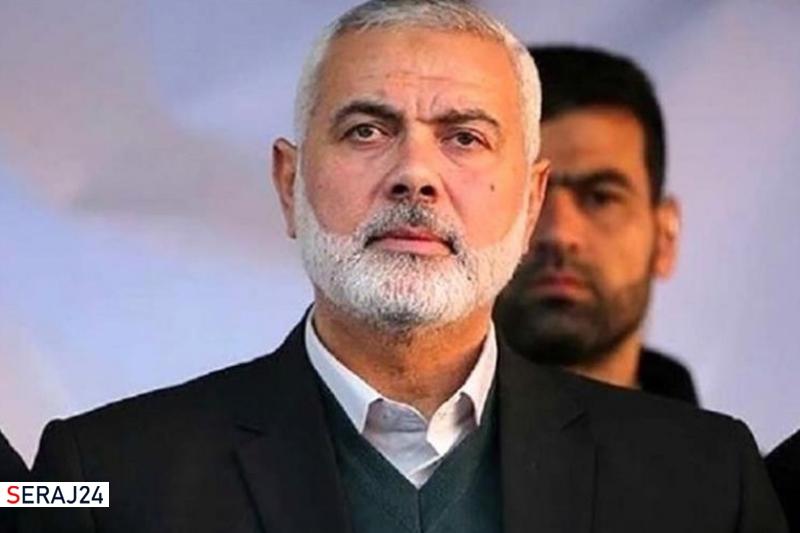 اسماعیل هنیه: مقاومت فلسطین در کنار ایران است