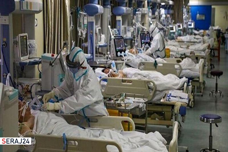 سراسر تهران قرمز است/۹۴۰۰ بیمار بستری هستند