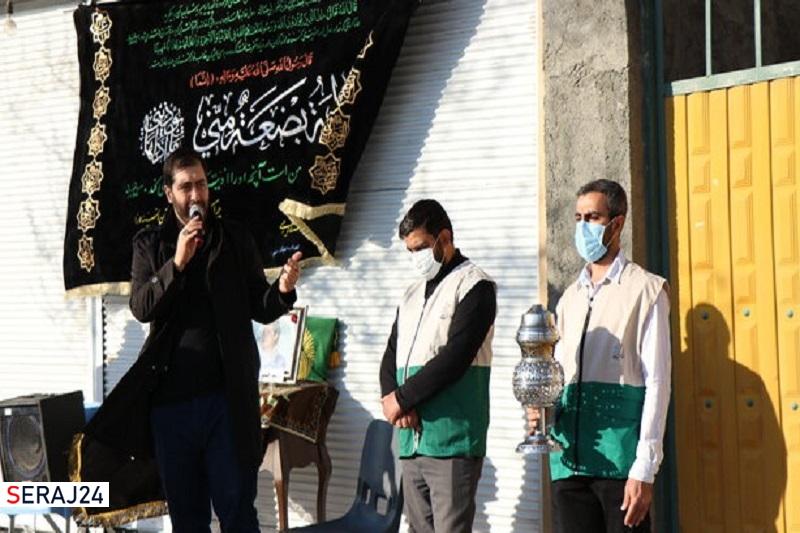 ترویج روضههای خانگی ومحلهای توسط خادم یاران رضوی اصفهان