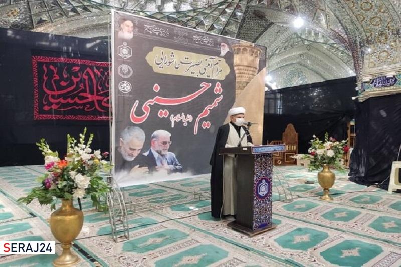 ۲۰۰ بسته ارزاق شمیم حسینی بین هیات های مذهبی شرق گلستان توزیع شد