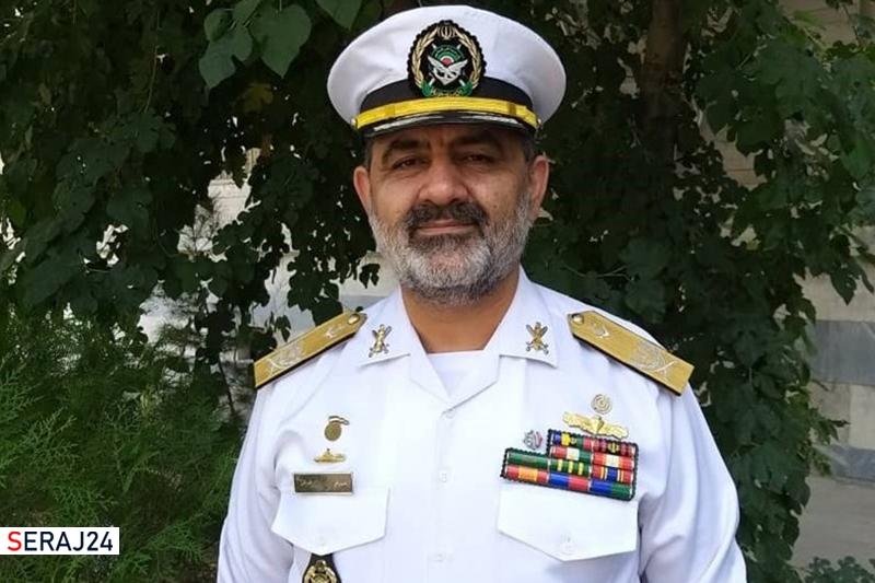 امیر شهرام ایرانی فرمانده نیروی دریایی ارتش شد+سوابق