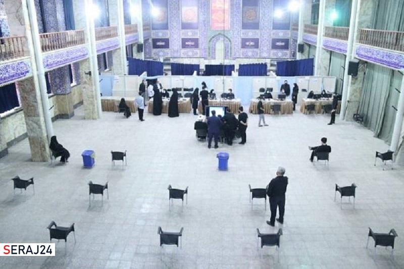 پایگاه انقلاب یزد به مرکز واکسیناسیون کرونا تبدیل شد