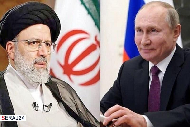 پوتین با رییس جمهور ایران درباره افغانستان و برجام گفتگو کرد