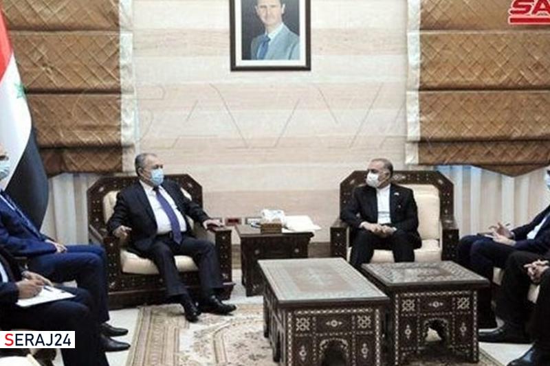 تاکید تهران و دمشق بر گسترش همکاریها و اجرای پروژههای مشترک