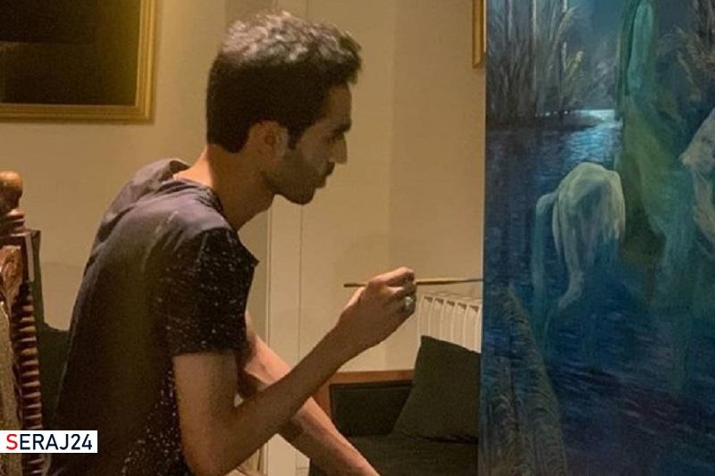 تجلی عاشورا در هنر نقاش بوشهری