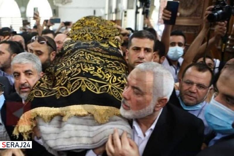 هزاران اردنی تشییع پیکر یک رهبر حماس را به راهپیمایی حمایت از مقاومت تبدیل کردند