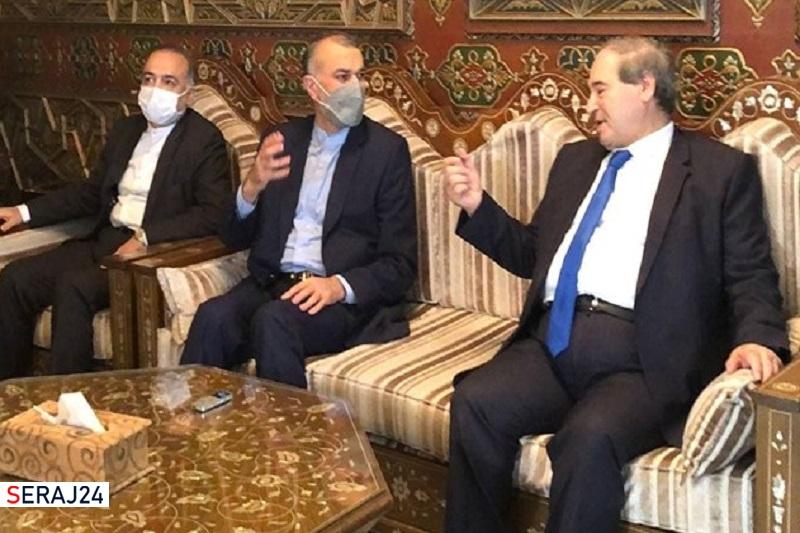 امیرعبداللهیان در بدو ورود به دمشق: ایران و سوریه در مبارزه با تروریسم پیروزی های مشترکی خلق کردند