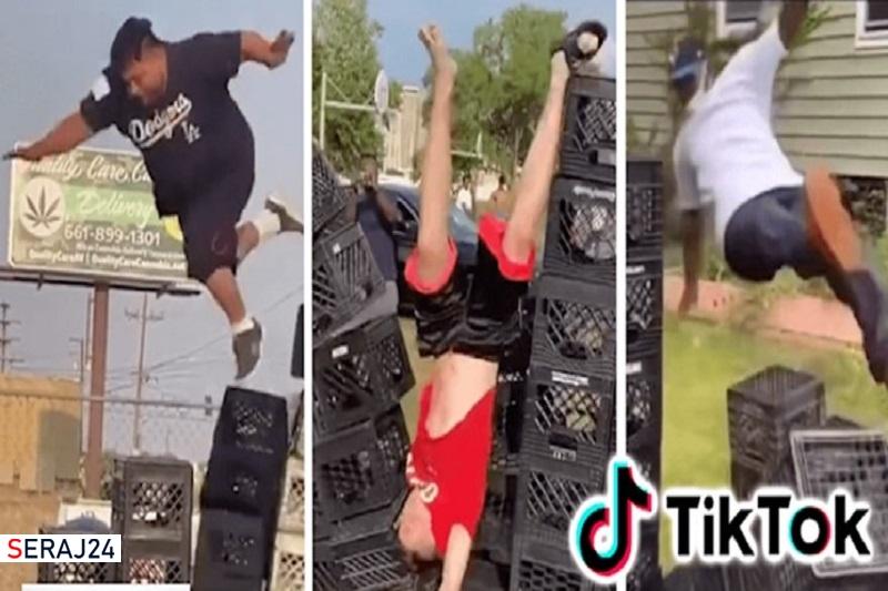 تیک تاک ویدیوهای «چالش جعبه شیر» را ممنوع کرد