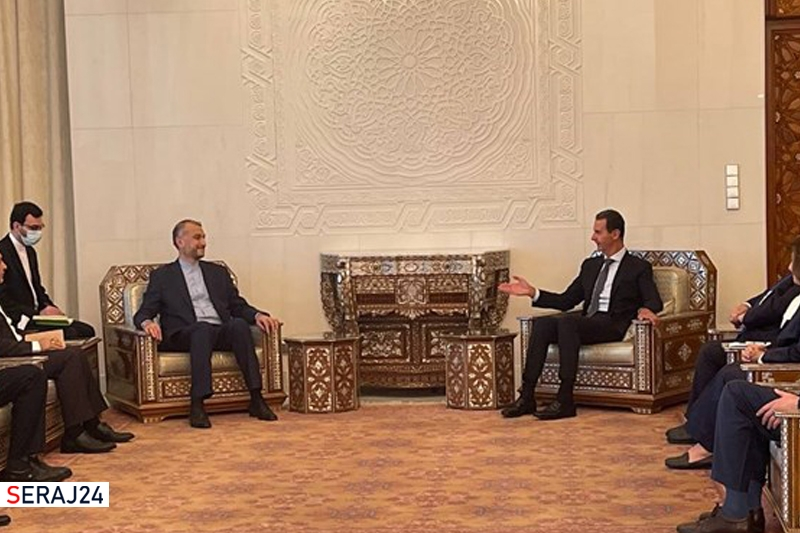 بشار اسد از حمایت های ایران از سوریه قدردانی کرد