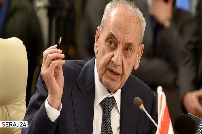 رئیس پارلمان لبنان: مشکلی با دریافت کمک از ایران نداریم