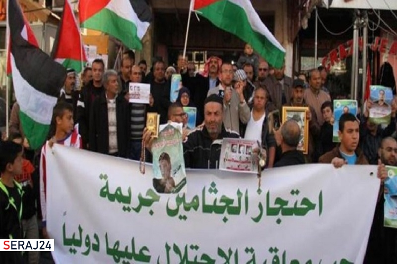 حماس: گروگان گرفتن پیکر شهدای فلسطین جنایت جنگی است