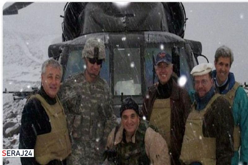 ناجی «جو بایدن» در افغانستان جاماند