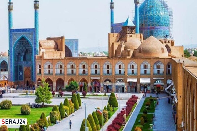 اتمام عملیات مرمت گنبد مسجد امام اصفهان تا پایان سال