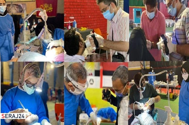ارائه خدمات رایگان دندانپزشکی به زندانیان از سوی جهادگران