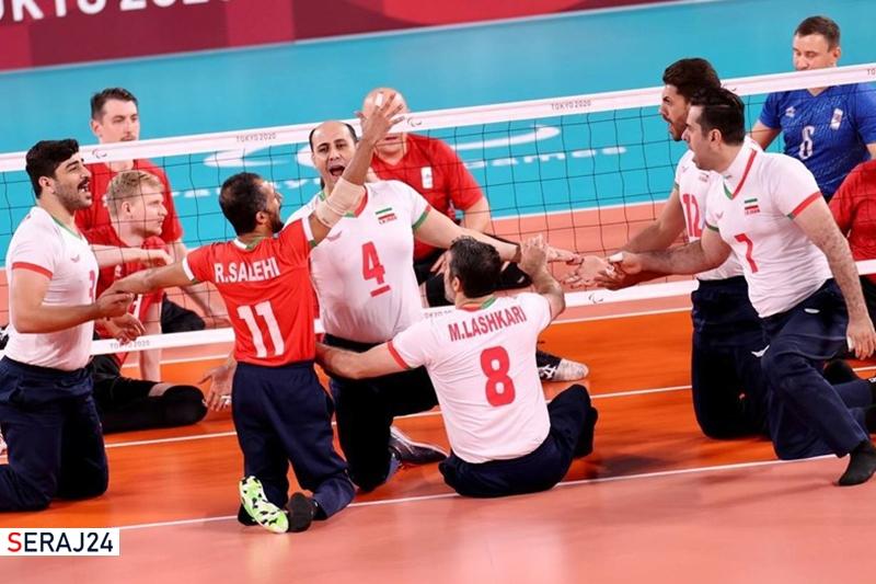 ضرب طلای یازدهم ایران به نام تیم والیبال نشسته/ بیت سیاح و محمدیان نقرهای شدند