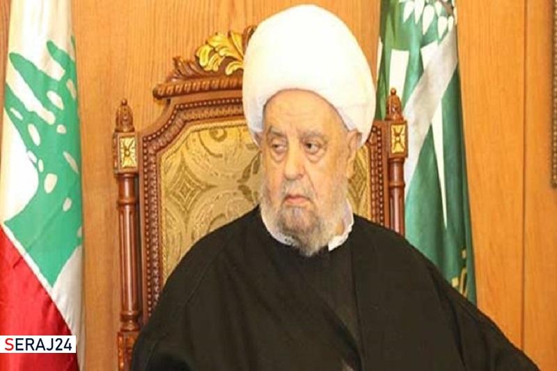 رئیس مجلس اعلای اسلامی شیعیان لبنان دار فانی را وداع گفت