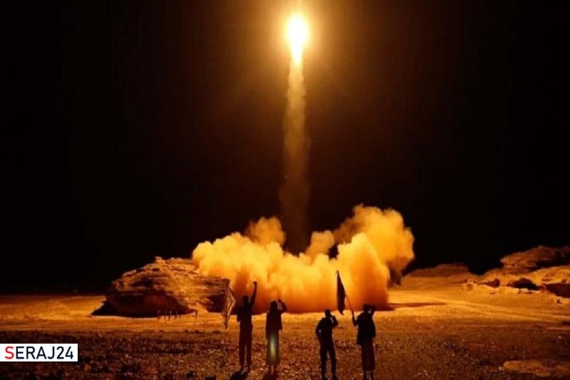 شلیک موشکهای بالستیک یمنی به مواضع ائتلاف جنایتکار سعودی