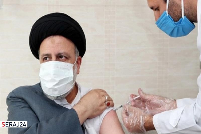 آیت الله رئیسی دوز دوم واکسن ایرانی برکت را دریافت کرد