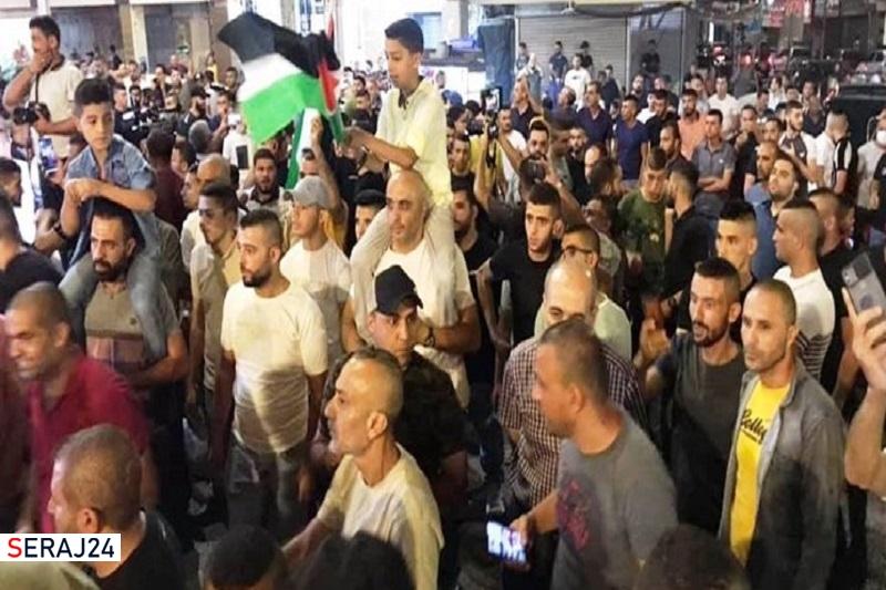 دهها زخمی در حمله نظامیان صهیونیست به راهپیماییهای حمایت از اسرای فلسطینی