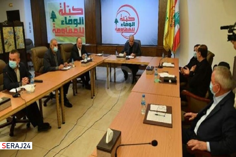 فراکسیون مقاومت لبنان: کشتیهای ایرانی، چهره تحریم کنندگان لبنان را بر ملا کردند