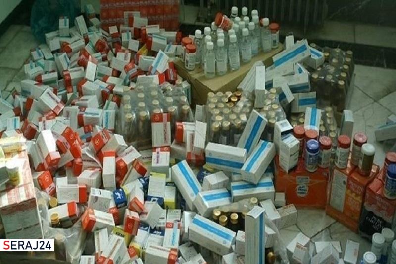 کشف ۲ میلیارد تومانی داروهای احتکار شده کرونایی