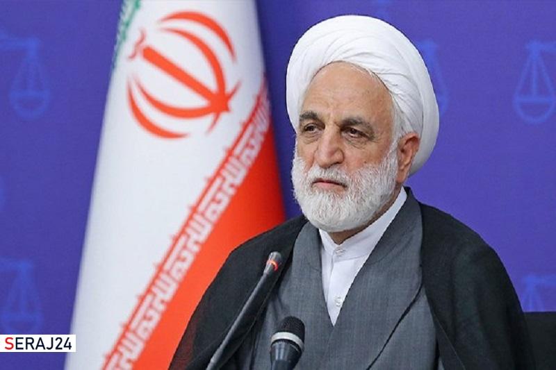 حجت الاسلام اژهای: قرارهای بازداشتموقت تا حد امکان صادر نشود