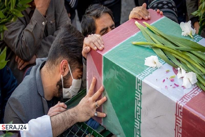 جانباز ۷۰ درصد، علی باباخانی به همرزمان شهیدش پیوست