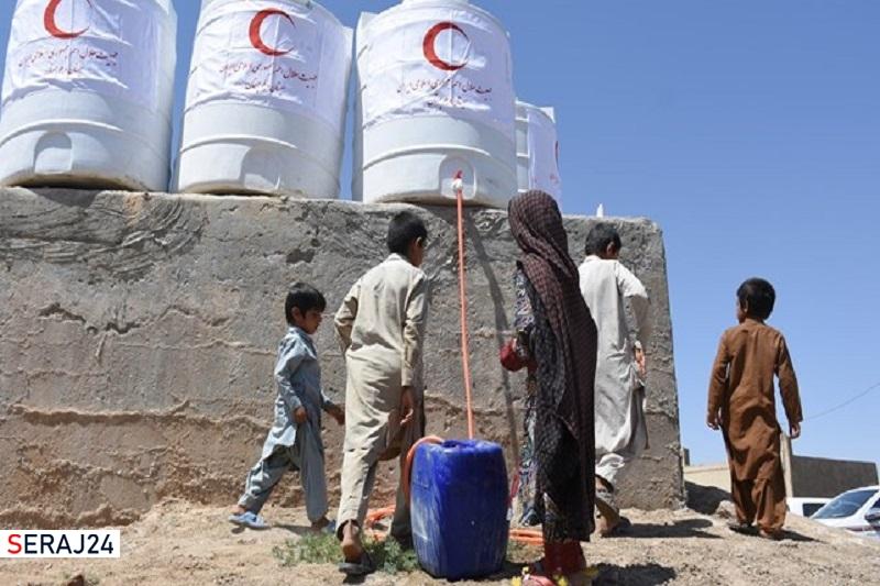 اجرای طرح نذر آب در سیستان توسط مردم نهاوند