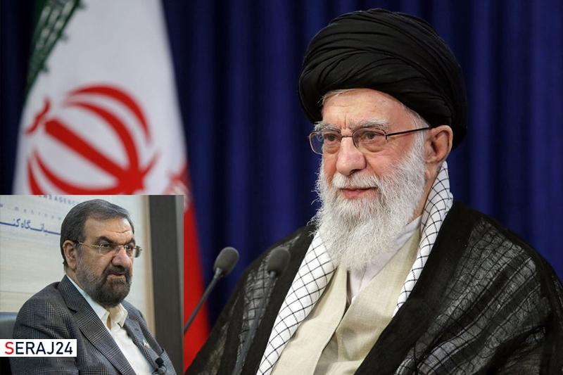 رهبر انقلاب با استعفای محسن رضایی از دبیری مجمع تشخیص مصلحت نظام موافقت کردند