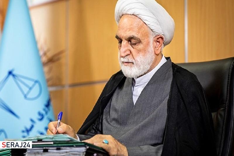 رئیس قوه قضائیه درگذشت پدر حجتالاسلام عاملی را تسلیت گفت