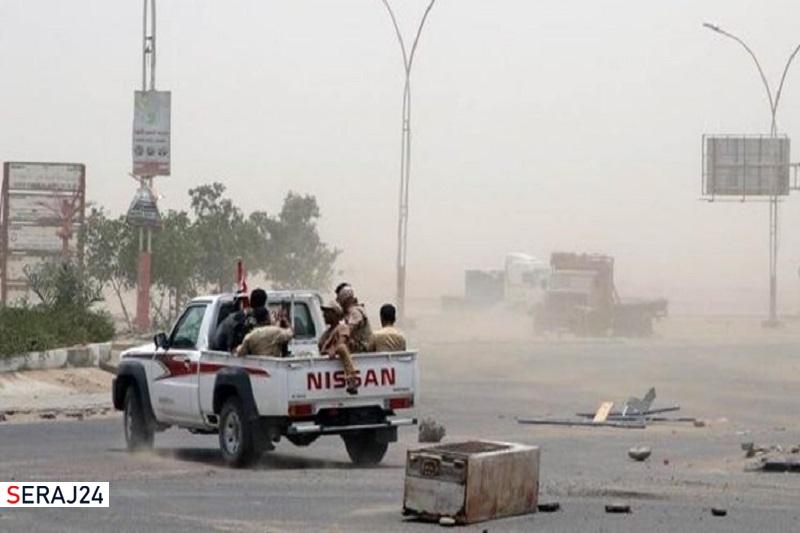 درگیری شدید مزدوران اماراتی با عناصر وابسته به ریاض در شبوه یمن