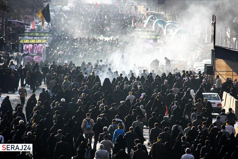 برگزاری مراسم جاماندگان اربعین حسینی در تهران همزمان با هفته دفاع مقدس