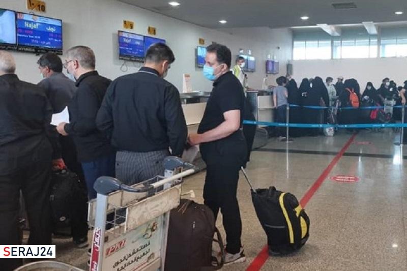 مسافران پروازهای العراقیه عصر امروز راهی عراق میشوند