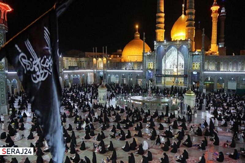 حرم کریمه اهلبیت(س) میزبان مراسم عزاداری اربعین حسینی