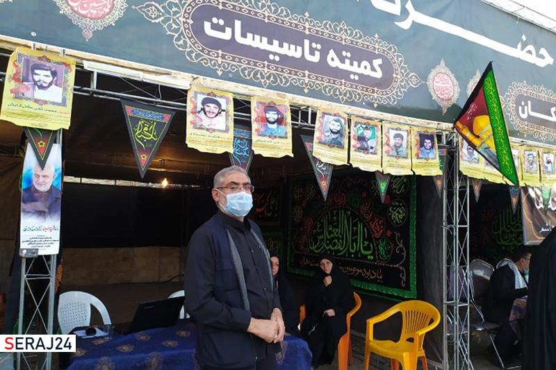 برپایی ۳۰ موکب اربعینی در بینالحرمین شیراز